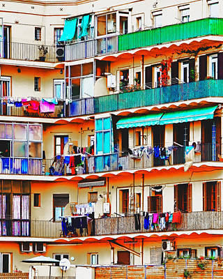 Photograph - Clotheslines by Pedro L Gili