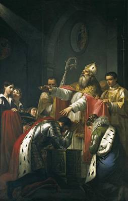 Clovis Photograph - Clotilde, Saint 475-545. Queen by Everett