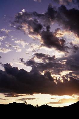 Photograph - Mountain Sunset by Jim Cotton