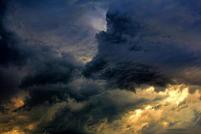 Cloud 20130426-31 Art Print by Carolyn Fletcher