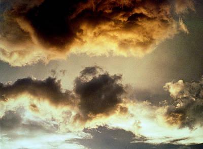 Photograph - Golden Cloud by Jim Cotton