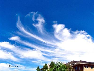 Photograph - Cloud Art 2 by Sadie Reneau