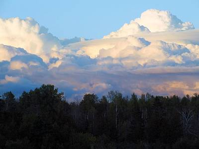 Photograph - Cloud Bank by Gene Cyr