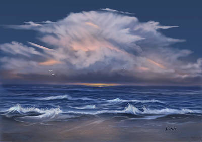 Painting - Cloud Burst by Sena Wilson