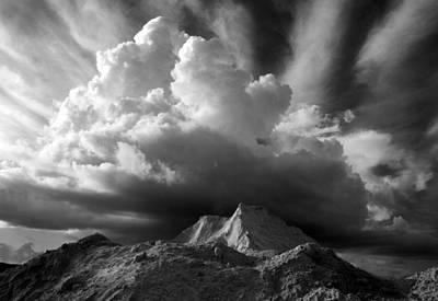 Cloud Burst Art Print by Stephen Mack