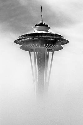 Photograph - Cloud City 1962 by Benjamin Yeager