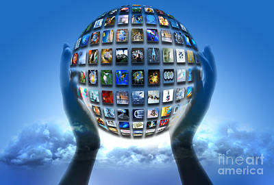 Photograph - Cloud Computing by Mike Agliolo