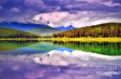 Photograph - Cloud Cover On Lake Patricia by Tara Turner