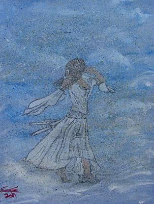 Carter.oil Painting - Cloud Dance by Caleb Shepard