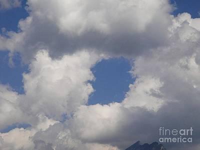 Switzerland Photograph - Cloud Doughnut by Karin Ravasio