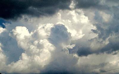 Photograph - Cloud Drama by Dawn Vagts