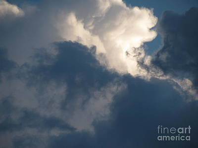 Photograph - Cloud Explosion by Leone Lund