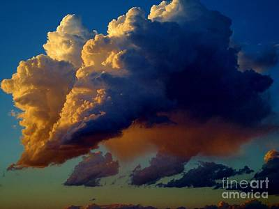 Cloud Family Art Print