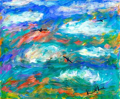 Painting - Cloud Flight by Kendall Kessler
