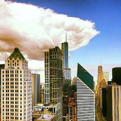 Skylines Photograph - Cloud Front Rolling In by Jill Tuinier