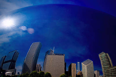 Photograph - Cloud Gate II by Roger Passman