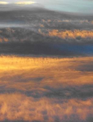 Photograph - 'cloud Landscape' by Liza Dey