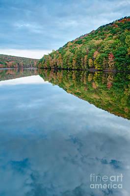 Chauncey Photograph - Lake - Cloud Mirror by JG Coleman