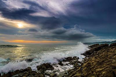 Photograph - Cloud Ocean Arrow by Matt Nordstrom
