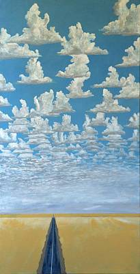 Painting - Cloud Ocean by Kerry Beverly