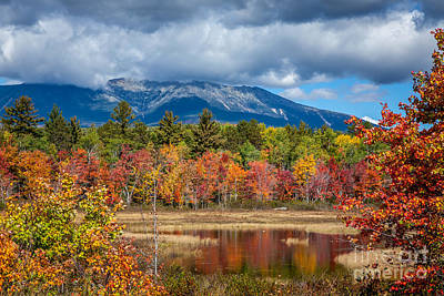 Photograph - Cloud Over Katahdin by Susan Cole Kelly