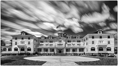 Cloud Painting At The Stanley Hotel Art Print