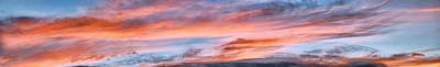 Photograph - Cloud Panorama 23 by Dawn Eshelman