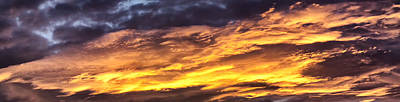 Photograph - Cloud Panorama 4 by Dawn Eshelman