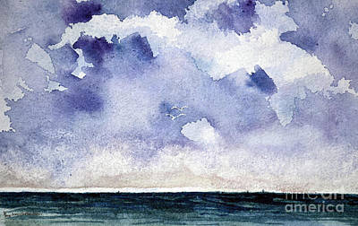 Painting - Cloud Regatta by Joan Hartenstein