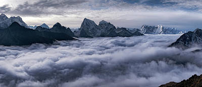 Himalayas Photograph - Cloud River by Alexey Kharitonov