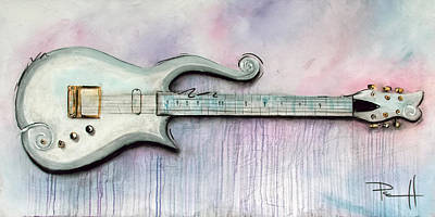 Music Paintings - Cloud by Sean Parnell