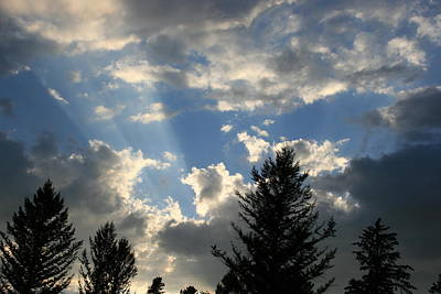 Photograph - Cloud Shadows by Betty-Anne McDonald