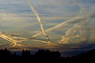 Photograph - Cloud Stream @ Sunrise by SC Heffner