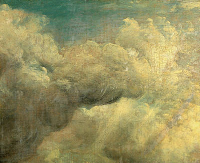 Volume Painting - Cloud Study, John Constable, 1776-1837 by Litz Collection