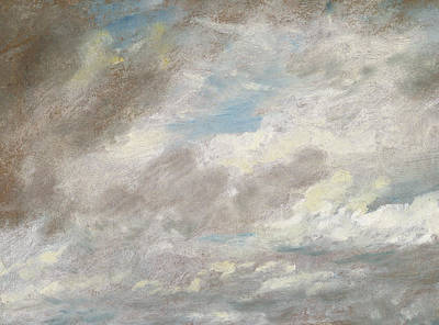 John Constable Painting - Cloud Study by John Constable