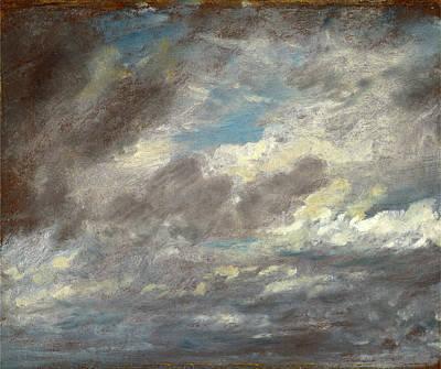 Cloud Study Wild Cloud Study, John Constable Art Print