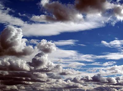 Photograph - Cloud Ten Enhanced by Ben Upham III