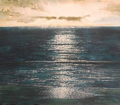 Painting - Cloudbreak by Mark  Leavitt