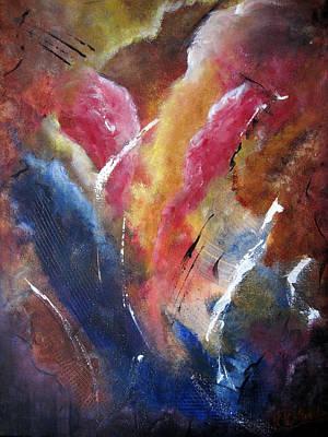 Painting - Cloudburst by Roberta Rotunda