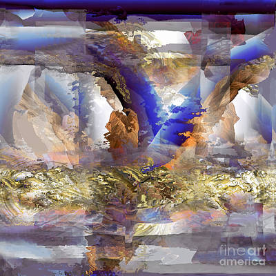 Cloudburst Art Print by Ursula Freer