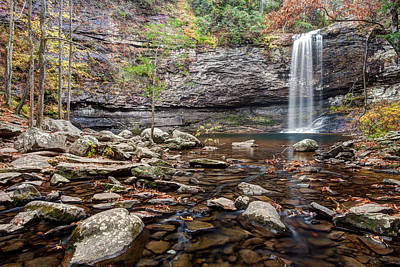 Cloudland Canyon Falls Art Print by Scott Moore