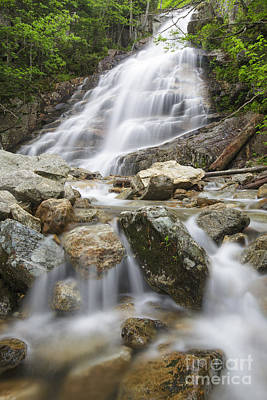 Cloudland Falls - Franconia Notch State Park New Hampshire Usa Art Print