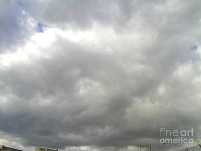 Photograph - Clouds-1 by Katerina Kostaki