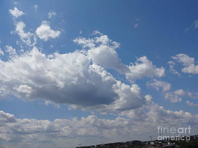 Photograph - Clouds 1 by Rod Ismay