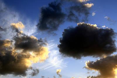 Photograph - Clouds 5 by Bob Slitzan