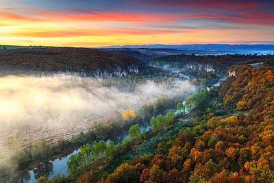 Bulgaria Photograph - Clouds Above The River by Evgeni Dinev