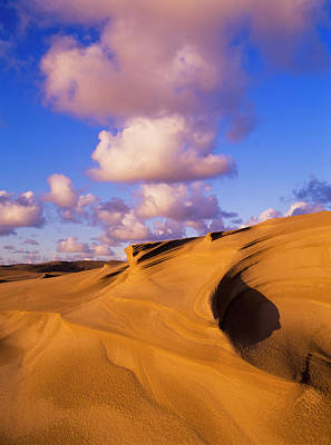 Clouds And Dunes Are Shape-shifters Art Print