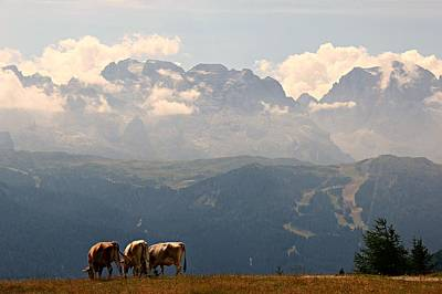 Photograph - Clouds And Mountains by Claudio Scarponi
