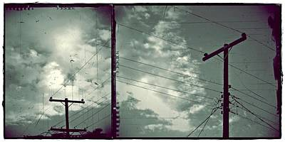 Photograph - Clouds And Power Lines by Patricia Strand