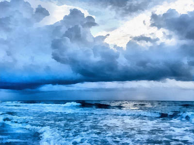 Photograph - Clouds And Sea by CarolLMiller Photography